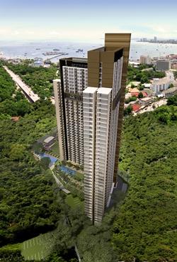 """Unixx"" South Pattaya condominium"
