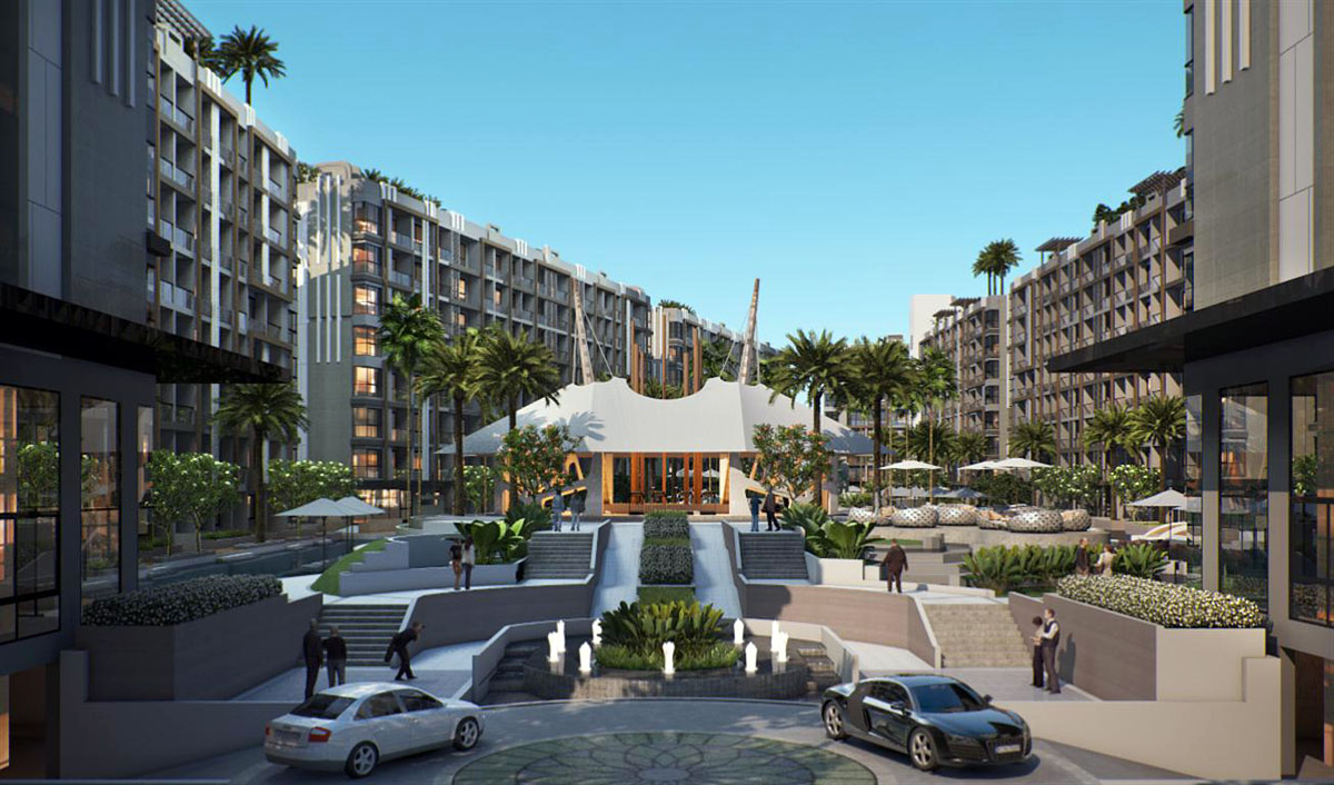 """""""Dusit Grand Park"""", Pattaya, Jomtien condominium"""
