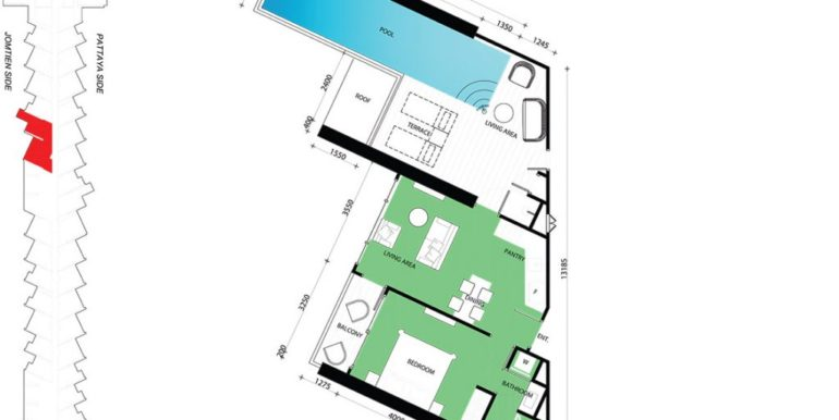 1 BEDROOM 80.00 SQM