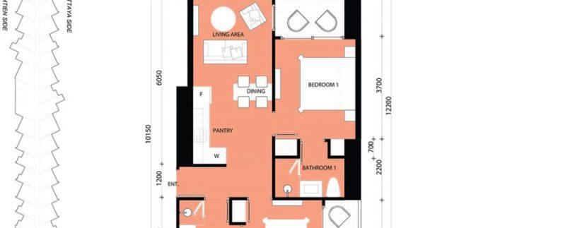 2 BEDROOM 64.00 SQM