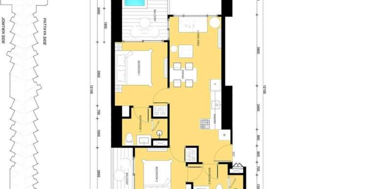 2 BEDROOM 65.00 SQM