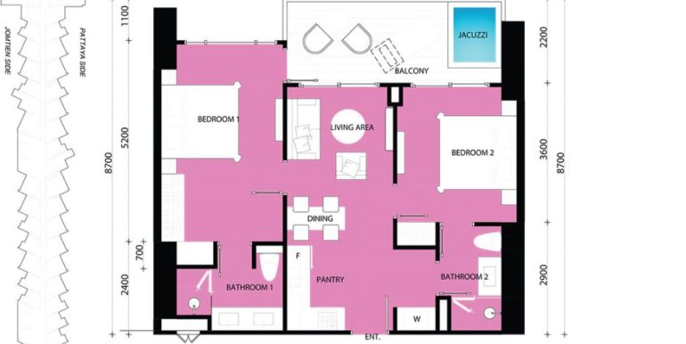 2 BEDROOM 72.00 SQM